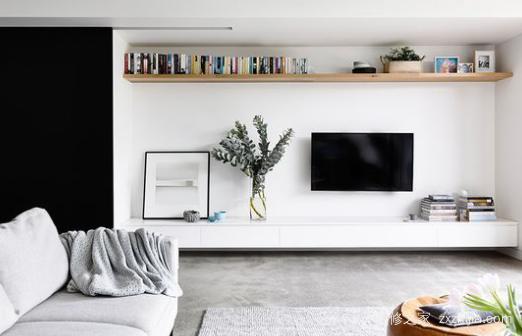 电视背景墙这样装,靠谱实用还美观!