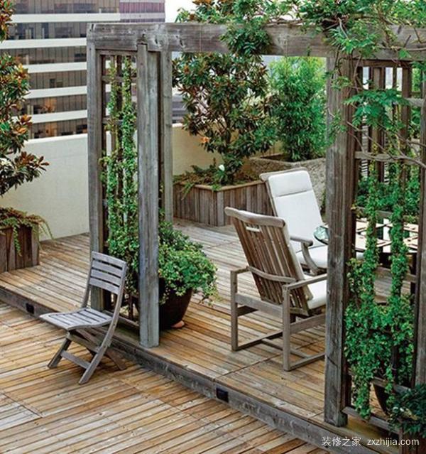 楼顶花园装修