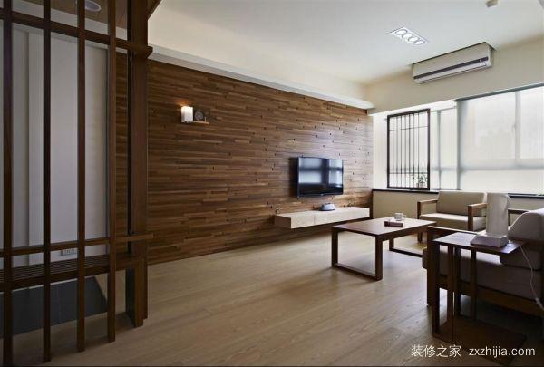 木地板电视墙