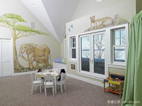 房子儿童画