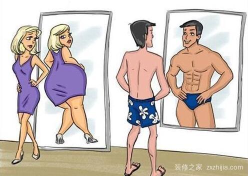 为什么晚上不能照镜子
