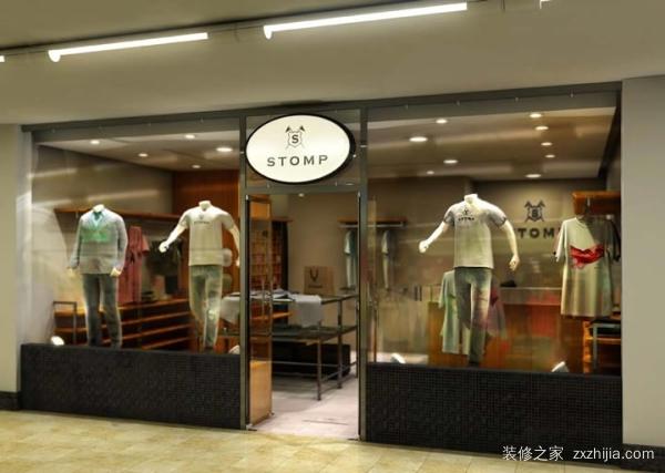 小服装店装修效果图