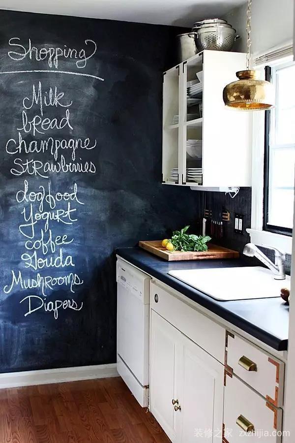如何提升家装逼格,来一面黑板墙吧!