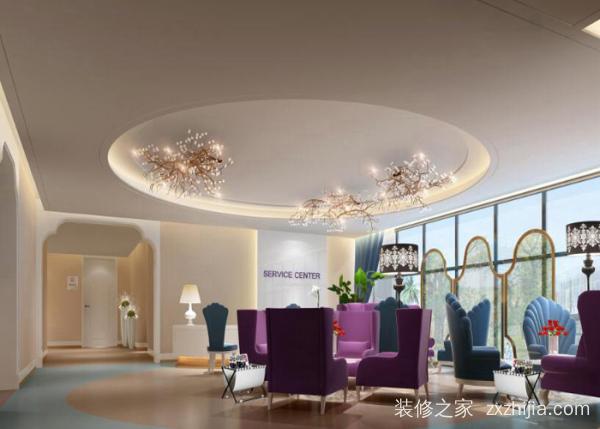 创造现代、高雅的生态整形医院装修设计方案