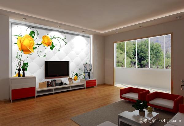 电视背墙效果图 电视背墙设计要点