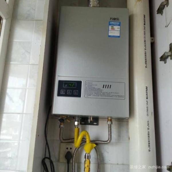 燃气热水器安装注意事项 燃气热水器安装步骤图片
