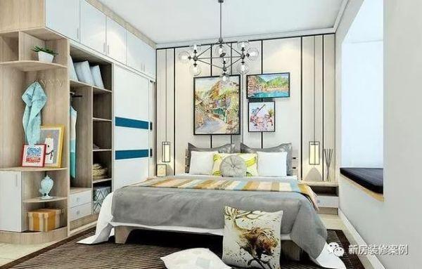 小户型卧室都这样装了,美观实用兼具