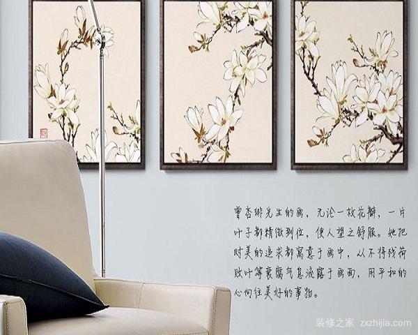 客厅挂什么字画风水好
