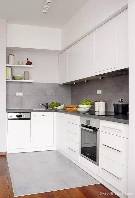 正方形,长方形厨房布局有