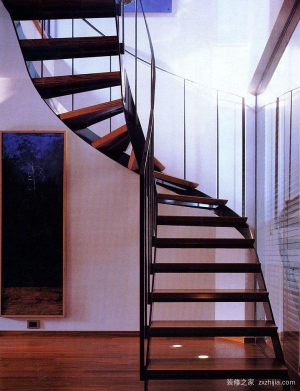 阁楼楼梯装修设计效果图二