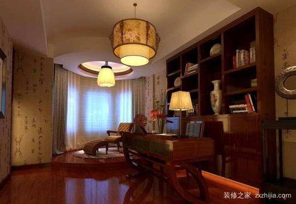 最有意境的书房必然是中式