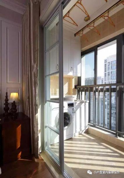 小户型阳台装修效果图,阳台这样装,起码实用好几倍!