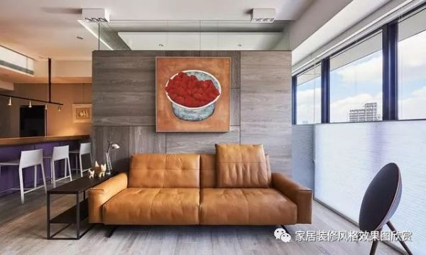 140平方现代简约装修风格效果图欣赏,最喜欢厨房的装修
