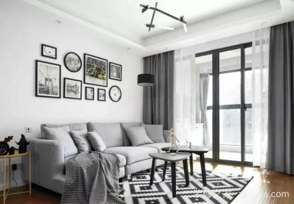 灰度空间的别墅装修设计,明媚与温暖离生活更近