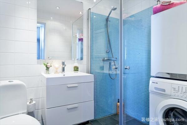 小户型的二十张卫生间装修效果图,都是卫生间为什么人家的不挤?
