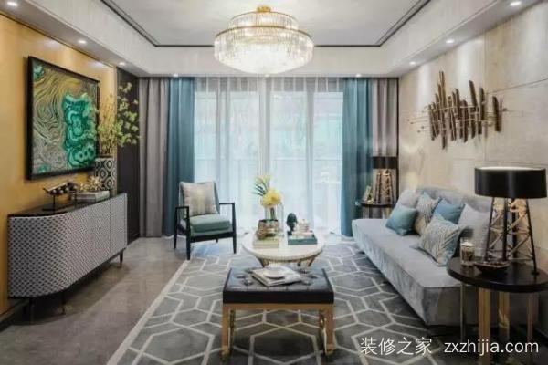 时尚美式别墅装修设计,轻松愉悦的居家氛围