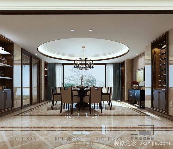 中式别墅装修设计,打造温馨雅韵的室内空间