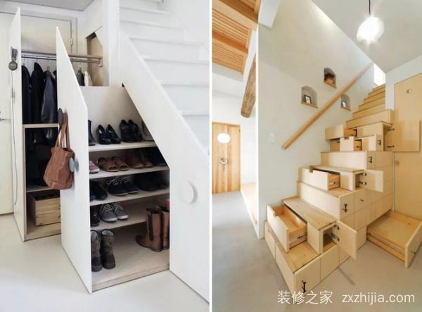 所占空间还蛮大的,如果你家有楼梯可以考虑让它带有储物功能↓↓↓