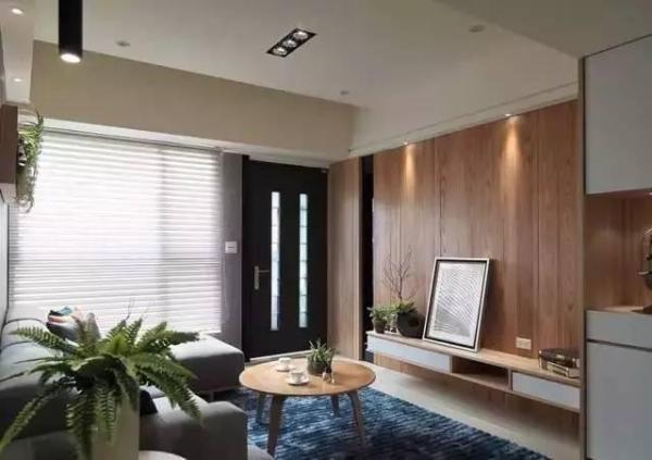 小户型的精美客厅装修效果图欣赏:四