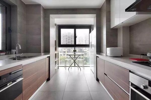 厨房小阳台怎么设计,看看这些美美哒的效果图学习一下