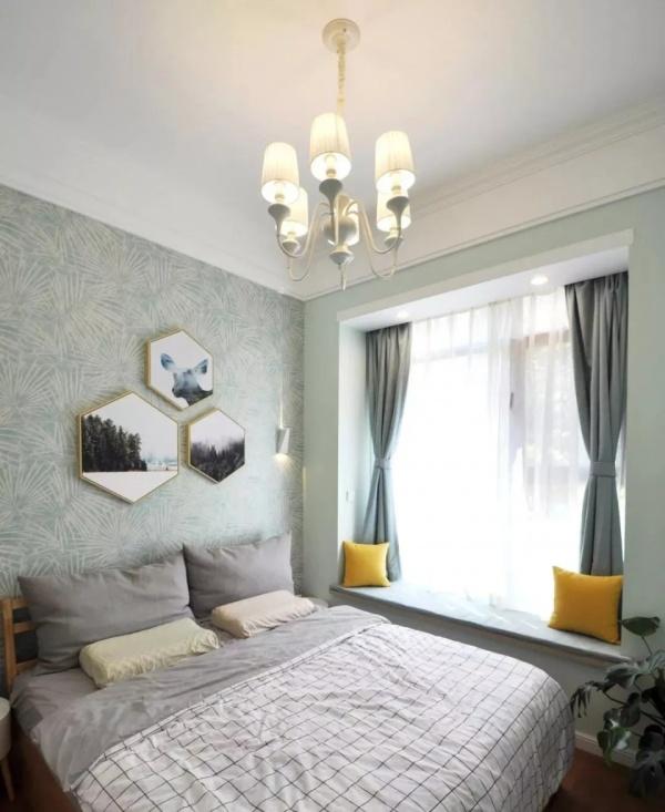 超美卧室飘窗装修设计效果图欣赏:四