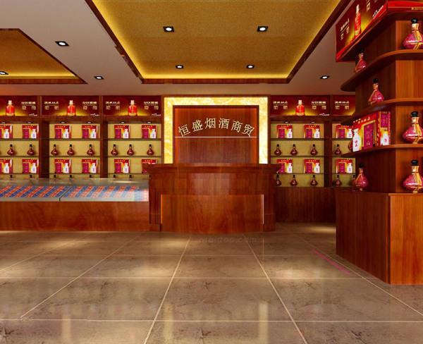 烟酒店装修效果图片 烟酒店装修设计要点