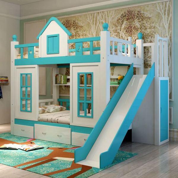 滑梯儿童床品牌有哪些 滑梯儿童床选购技巧