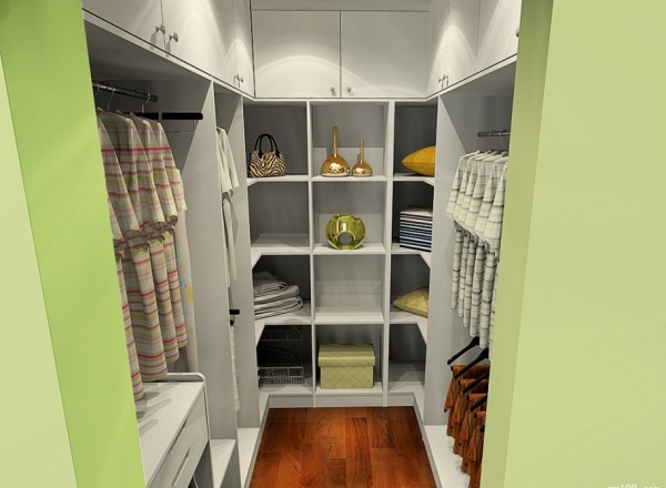 卧室衣帽间设计装修风格 装修注意事项图片