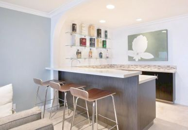 开放式厨房吧台设计,打造时尚家居