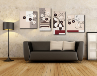家居装饰画如何搭配?家居装饰画搭配原则