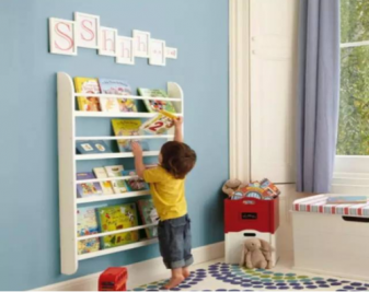 怎么设计儿童书架?儿童书架如何选购?