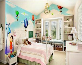儿童房手绘墙如何设计?手绘墙材料如何选择?