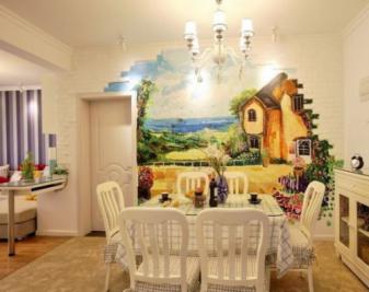 什么是餐厅墙绘?餐厅墙绘需要注意什么?