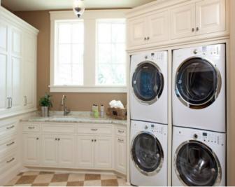 如何设计洗衣机组合柜?洗衣机组合柜尺寸标准