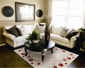家居地毯有何作用?家居地毯尺寸有哪些?
