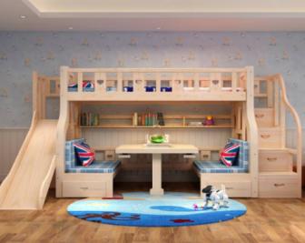 儿童滑梯床尺寸如何选择?儿童滑梯床尺寸介绍