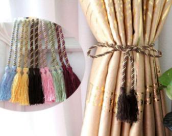 常见窗帘饰品有哪些?窗帘饰品种类介绍