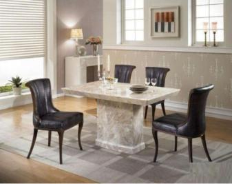 大理石餐桌有辐射吗?如何选购大理石餐桌?