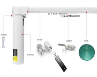 电动窗帘轨道如何安装?电动窗帘轨道安装步骤