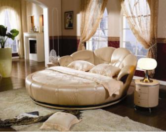 圆形床尺寸多少合适?圆形床价格是多少?