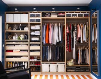 家庭衣物怎么合理收纳?家庭衣物收纳步骤