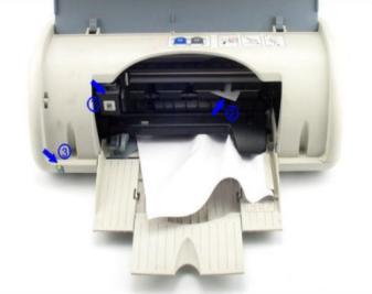 打印机卡纸怎么办?打印机卡纸解决方法