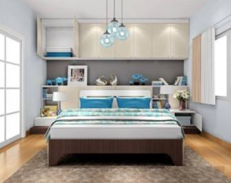 如何设计床头吊柜?床头吊柜设计方案