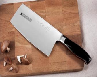 不锈钢菜刀好吗?不锈钢菜刀怎么磨?