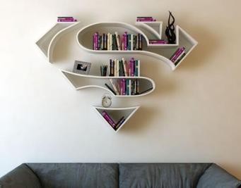 创意书架让您爱上读书