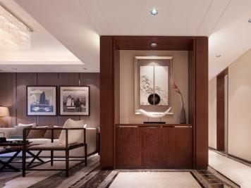 中式鞋柜玄关设计搭配以及注意事项