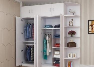 卧室衣柜怎么设计?合理利用空间设计卧室衣柜