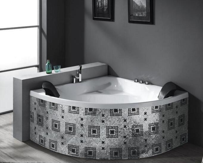 扇形浴缸的选择 扇形浴缸的尺寸