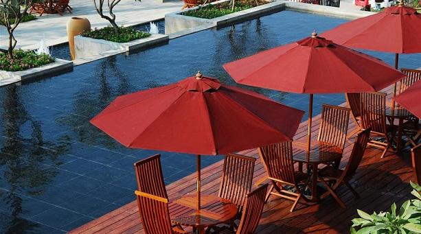 太阳伞什么颜色不吸热?怎样选购太阳伞?