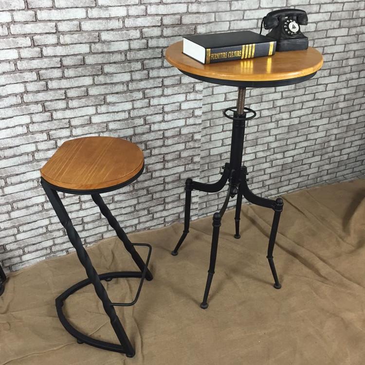 铁艺酒吧椅介绍  铁艺酒吧椅选择